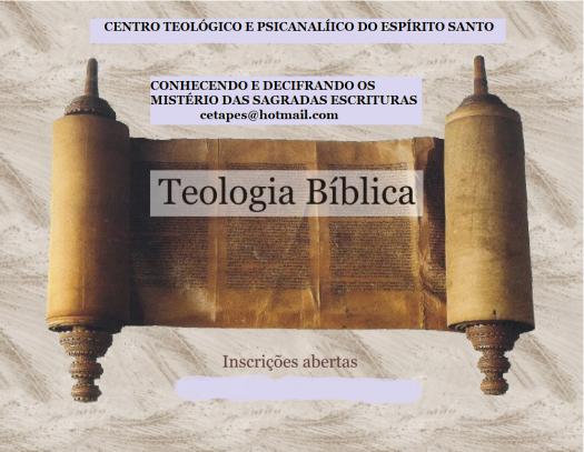 Teologia Bíblica