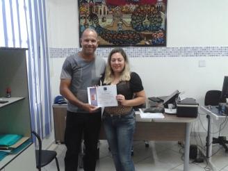 Prof. Pedro e Patrícia