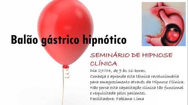 Seminário Hipnose - Balão Gástrico